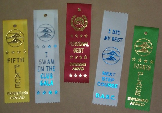 Swimming Ribbon Awards